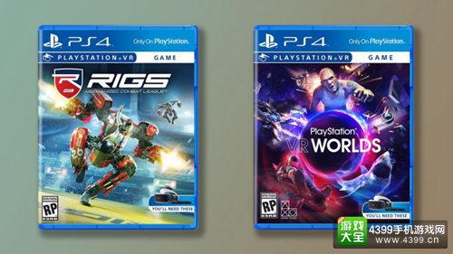 亚马逊公布部分PSVR游戏价格 现可接受预定