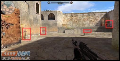 生死狙击沙漠2需要注意的位置