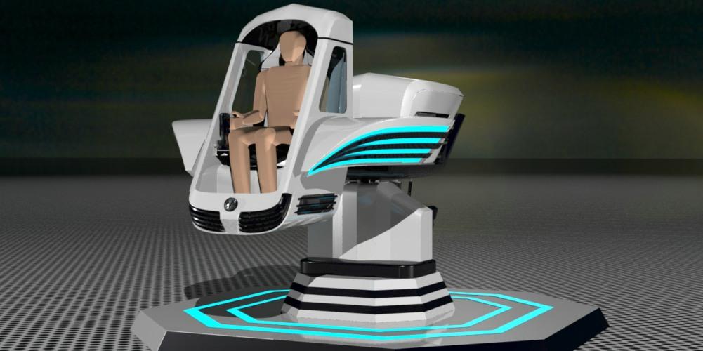虚拟现实与体感的极致体验 英雄梦VR亮相CJ