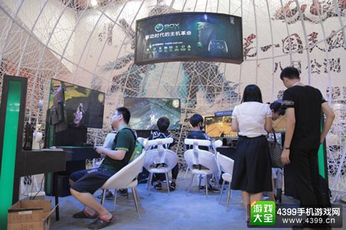 2015 China Joy 蜗牛游戏试玩现场