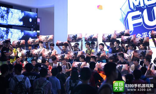 2015 China Joy 蜗牛游戏周边领取现场