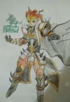 英雄之境绘画作品-刘邦