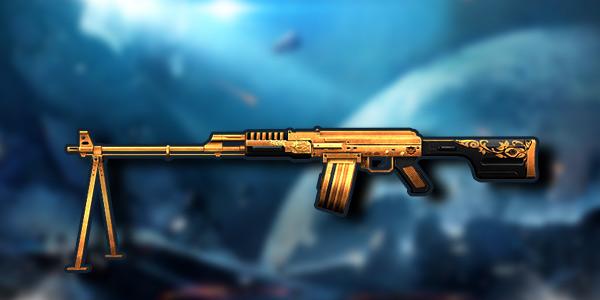 生死狙击手游黄金RPK怎么样? 机枪对比图
