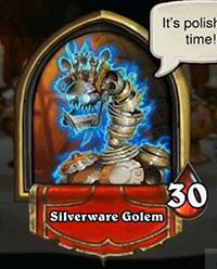 炉石传说镀银魔像攻略