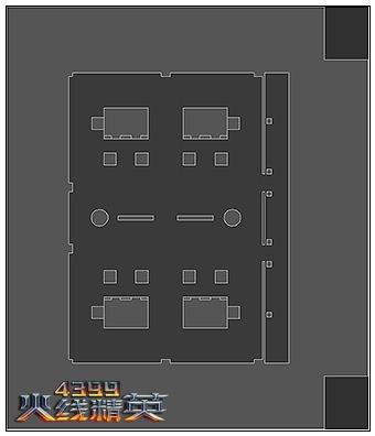 火线精英圣诞广场平面图