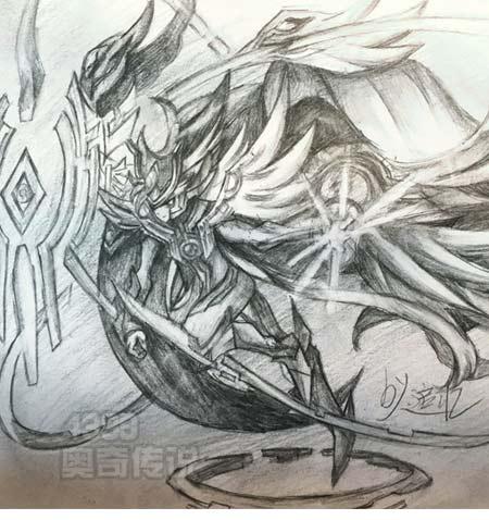 奥奇手绘---苍穹圣王