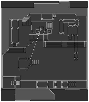 火线精英生化要塞平面图