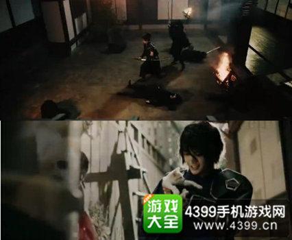 《刀剑乱舞》电视广告原创刀剑男士:鬼切圣阳、猫目石吾郎