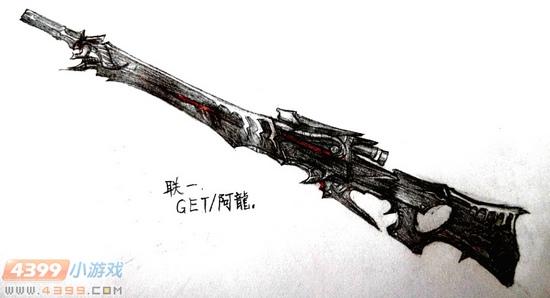 生死狙击玩家手绘-炎魔咆哮霸气归来