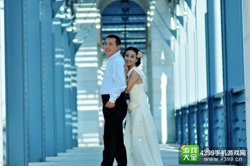 图4 《神仙道2》手游粉丝 雷娅和她的老公结婚了