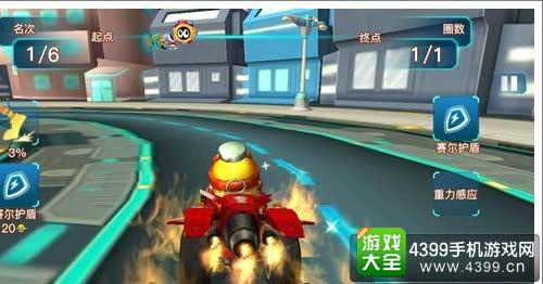 赛车小游戏4399_《赛尔号王者归来》是一款极具ip特色的竞速赛车类游戏, 玩家将身临其