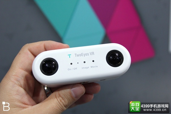 便携全景3D相机TwoEyes VR公布 今秋开展众筹