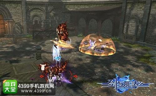新剑与魔法战斗