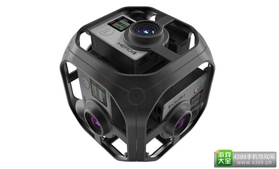 GoPro推出VR全景相机Omni 主打专业市场