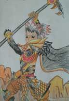 英雄之境绘画作品-项羽