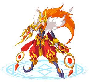 奥奇传说龙神火火