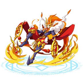 奥奇传说龙神君焰