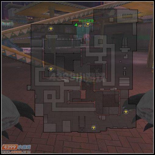 生死狙击主题乐园小地图