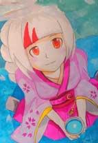 英雄之境绘画作品-樱花物语