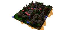 我的世界手机版建筑存档 幻城域地图下载