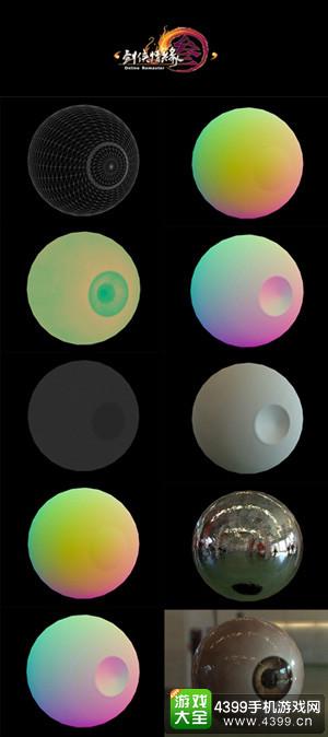 7层渲染过程打造真实眼神光
