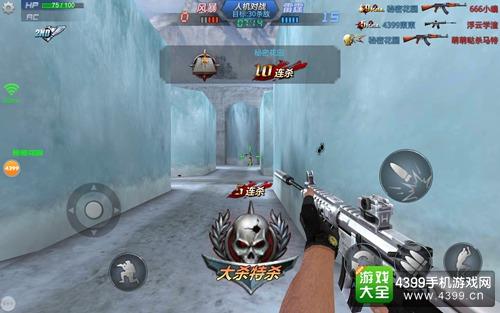 生死狙击手机版M4A1荣耀战斗技巧