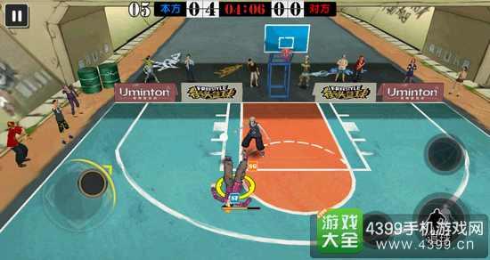 街头篮球手游防守技巧造失误