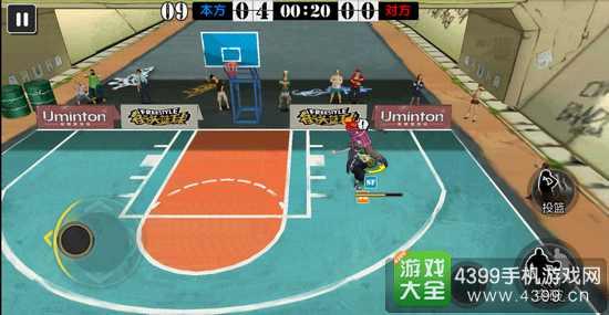 街头篮球手游防守技巧突破