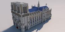 我的世界手机版建筑地图下载 巴黎圣母院下载