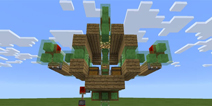 我的世界【红石】Flying House