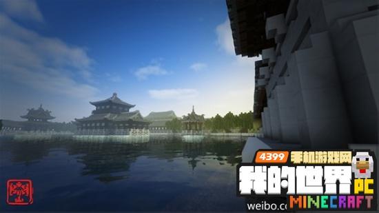 我的世界中国风建筑活动展示 pc版中国风建筑精美图片