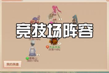 大主宰新版竞技场阵容推荐分析 竞技场技巧