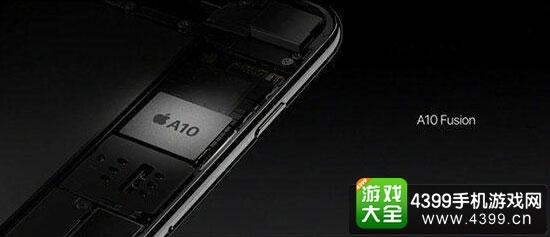 IPhone7plus亮黑色选用A10融合处理器