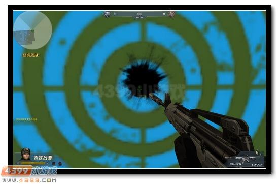 生死狙击M4A1荣耀近距离