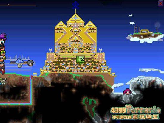 泰拉瑞亚日耀神殿建筑