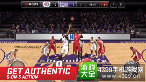 《NBA LIVE移动版》