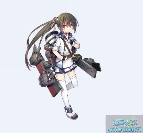 战舰少女r白露立绘