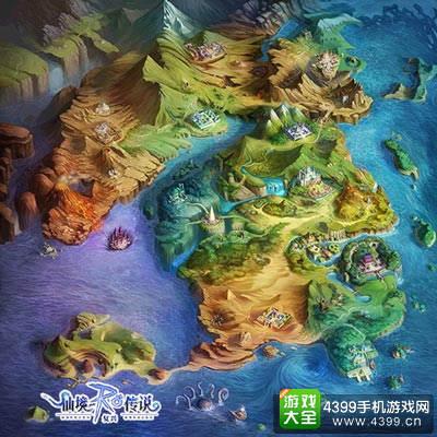 仙境传说:复兴世界地图