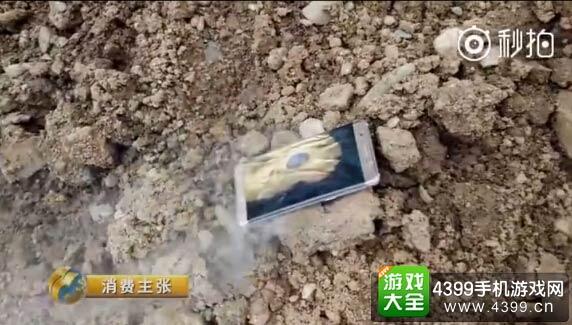 央视财经曝光三星Note7爆炸视频