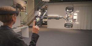 微软宣布将在6国预售AR黑科技外设:Hololens