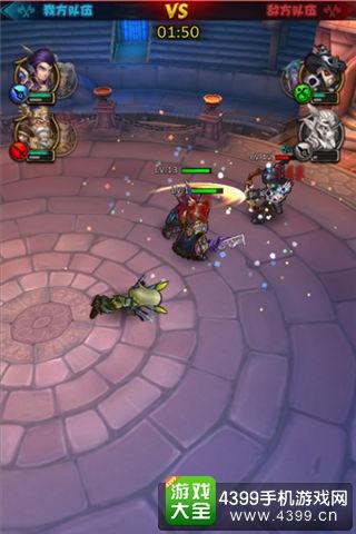 剑圣觉醒竞技场战斗