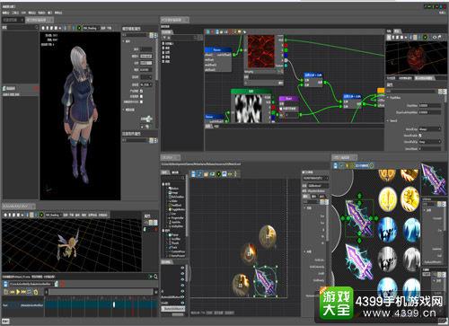 图为VISE3D游戏开发引擎 高效智能便捷的开发模式