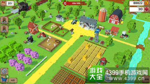 《块状农场》