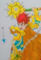 英雄之境绘画作品-原创英雄合集3