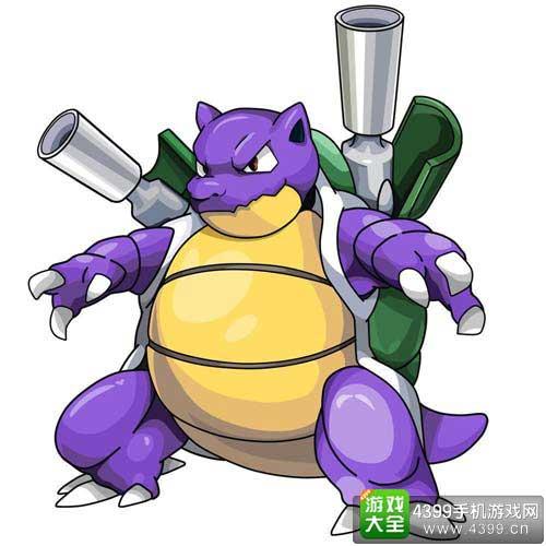 闪光水箭龟