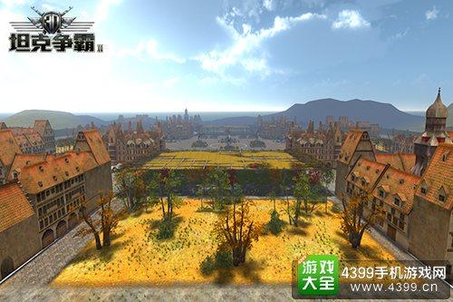 3D坦克争霸2游戏场景