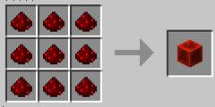 我的世界红石块怎么做