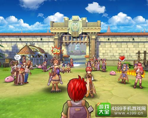 仙境传说守护永恒的爱游戏场景