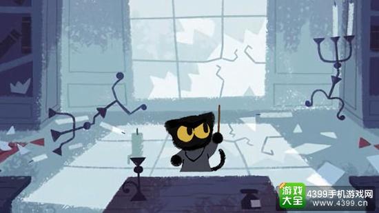 谷歌首页推出万圣节小游戏 在《魔法喵学院》中对抗恶灵