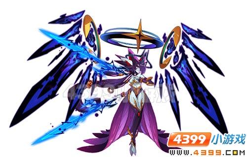 赛尔号凯兮是暗黑战神联盟的女神,暗黑版的缪斯!
